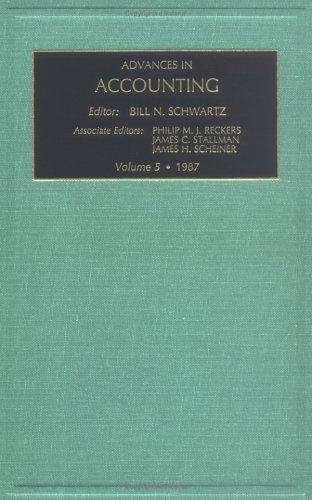 Download Advances in Accounting