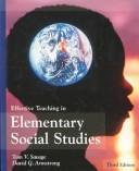 Download Effective teaching in elementary social studies