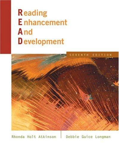 Reading enhancement and development