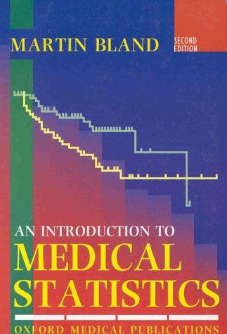 Download An introduction to medical statistics