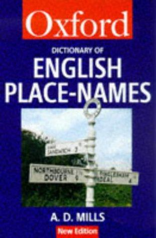 Download A dictionary of English place-names