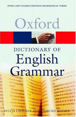 Download Oxford dictionary of English grammar