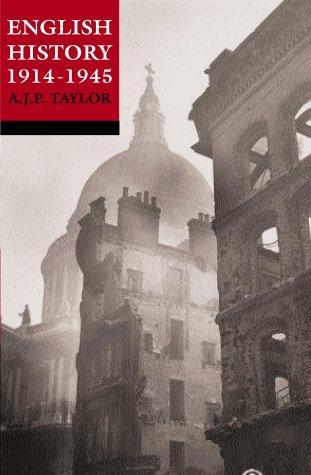 English history, 1914-1945