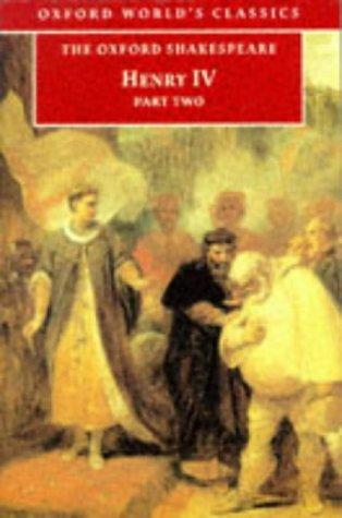 Download Henry IV, Part 2 (Oxford World's Classics)