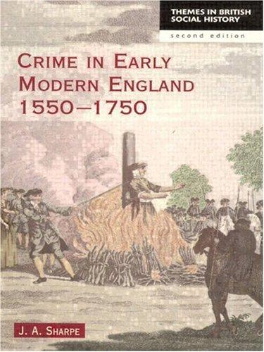 Download Crime in early modern England, 1550-1750