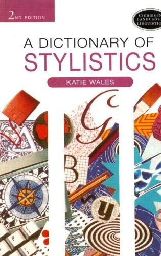 Download A dictionary of stylistics