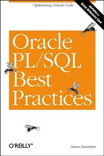 Download Oracle PL/SQL best practices