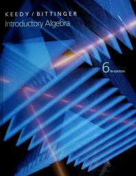 Cover of: Introductory algebra | Mervin Laverne Keedy