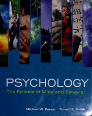 Cover of: Psychology | Michael W. Passer