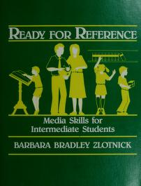 Cover of: Ready for reference | Barbara Bradley Zlotnick