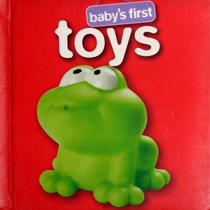 Baby's first toys by