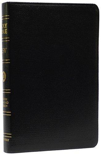 ESV Holy Bible Classic Ref. Gen. Leather Black