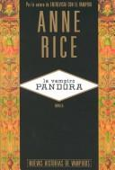 La Vampiro Pandora by Anne Rice