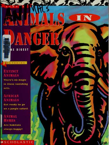 Animals in danger theme digest by