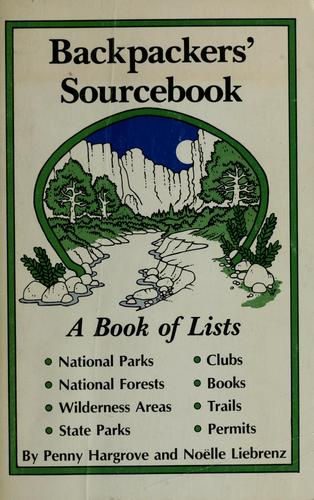 Backpackers' sourcebook by Penny Hargrove