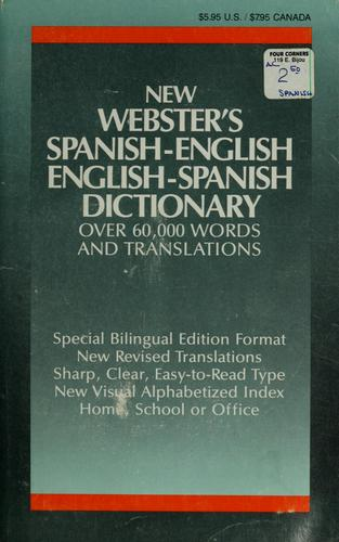 Webster's Spanish-English, English-Spanish dictionary by