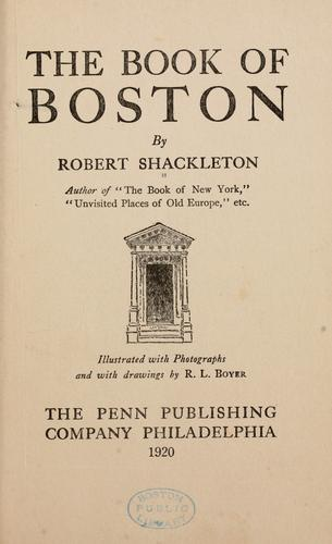 The book of Boston.