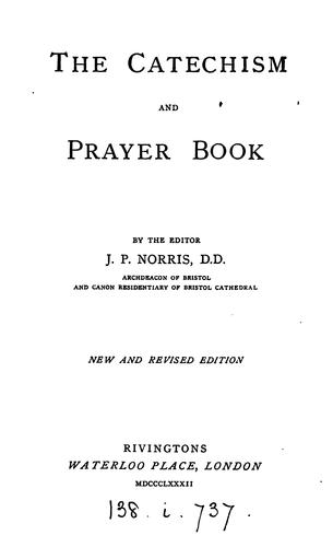 The catechism and prayer book