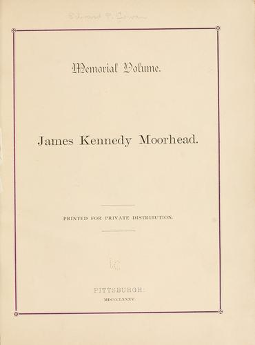 Memorial volume by Edward Payson Cowan