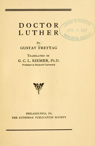Doctor Luther