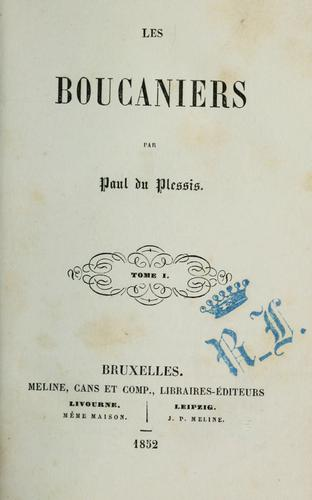 Les boucaniers by Paul Duplessis