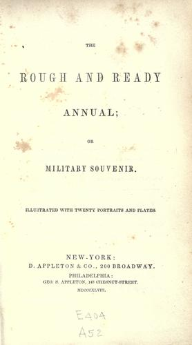 The rough and ready annual by