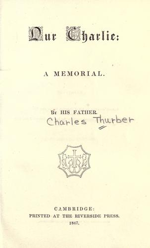 Our Charlie by Charles Thurber