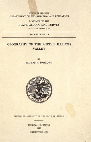 Geography of the middle Illinois valley