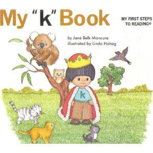"My ""k"" book by Jane Belk Moncure"