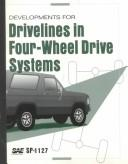 Developments for Drivelines in Four-Wheel Drive Systems by Society of Automotive Engineers.
