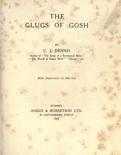 The glugs of Gosh.