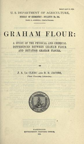 Graham flour by Joseph Arthur Le Clerc