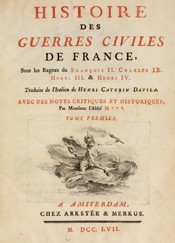 Histoire des guerres civiles de France