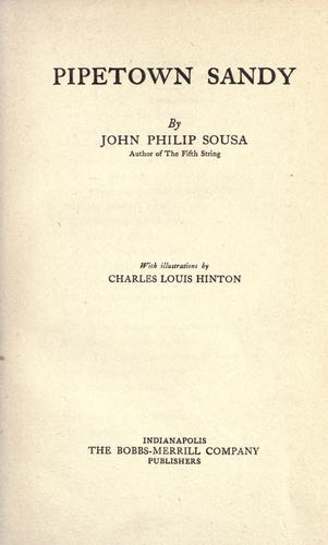 Pipetown Sandy by John Philip Sousa