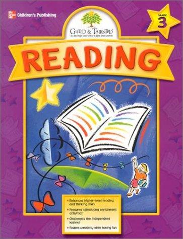 Gifted & Talented Reading, Grade 3 by Tracy Masonis