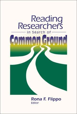 Reading Researchers in Search of Common Ground by IRA