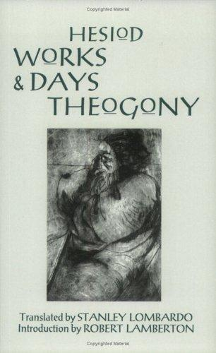 The Works And Days And Theogony by Hesiod