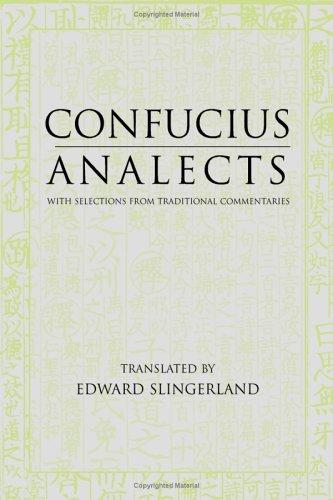 Confucius Analects by Confucius