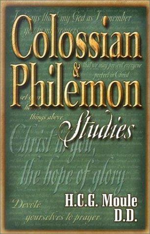 Colossian and Philemon Studies