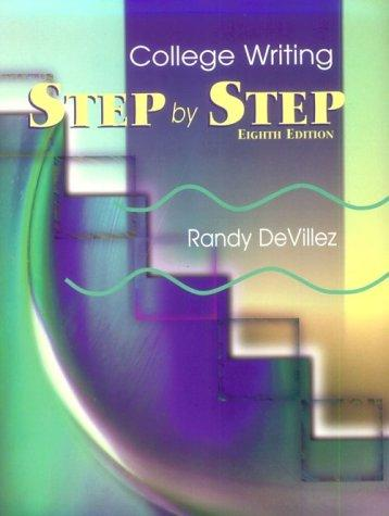 Step by Step College Writing