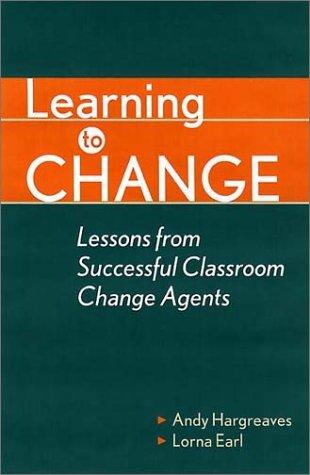Learning to Change by Susan Manning