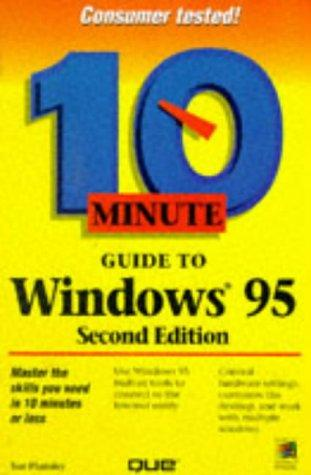 10 minute guide to Windows 95 by Sue Plumley