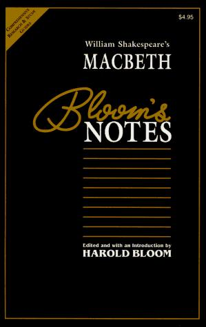 William Shakespeare's Macbeth (Contemporary Literary Views) by Harold Bloom
