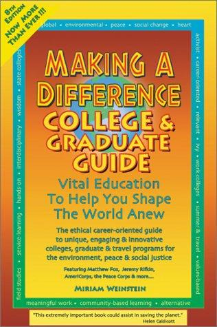 Making a Difference by Miriam Weinstein