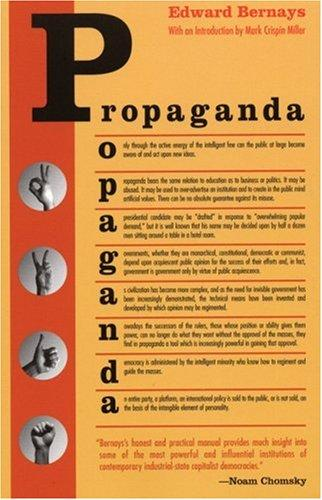 Propaganda by Edward L. Bernays