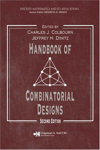 Handbook of combinatorial designs by