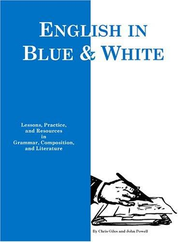 Blue and White English by John Powell, Chris Giles