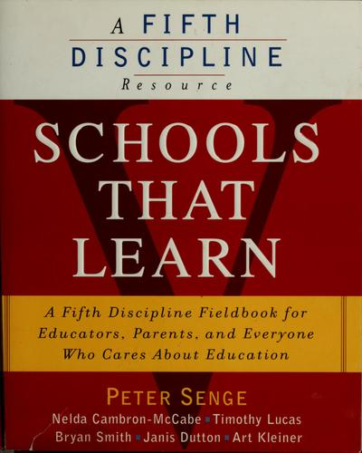Schools that learn by Peter M. Senge