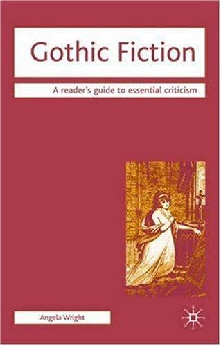 Gothic Fiction (Readers' Guides to Essential Criticism) by Angela Wright