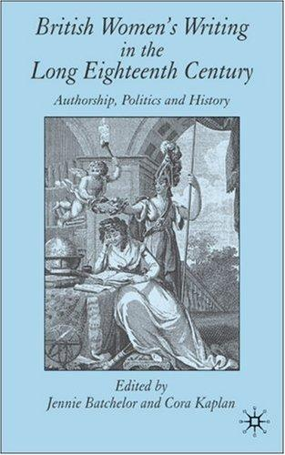 British women's writing in the long eighteenth century by